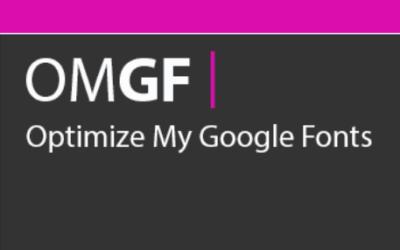 Mit OMGF Schriften in WordPress lokal installieren