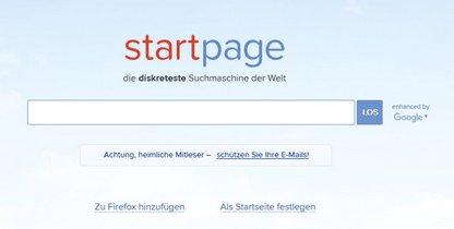 Startpage?